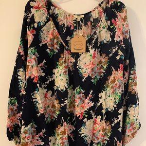 Kori America floral shirt